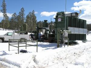 CSI Compressco Natural Gas Rotary Screw Compressor