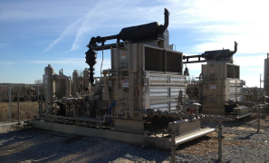 Two 203 Hp Compressor Packages in Gas-Lift Service
